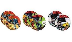 6 Porta Copos DC Comics Batman & Robin - Capas