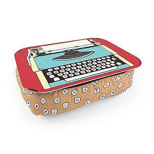 Almofada Bandeja / Suporte Notebook - Máquina de Escrever