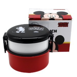 Lunch Box / Lancheira 2 Compartimentos 530ml - Mickey Mouse
