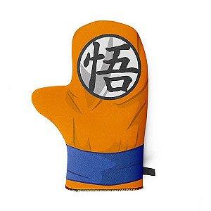 Luva de Cozinha em Neoprene Dragon Ball - Goku