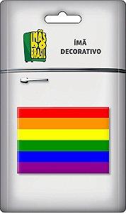 Imã Fotográfico - Gls - Bandeira Arco Iris