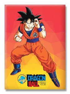 Imã Decorativo Foto Animes - Goku