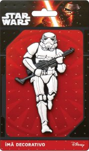 Imã Decorativo Relevo Star Wars - Stormtrooper
