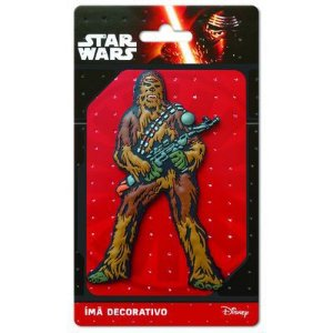 Imã Decorativo Relevo Star Wars - Chewbacca