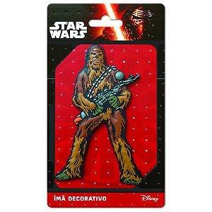 Imã Decorativo Relevo Star Wars - Chewbacca