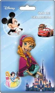 Imã Decorativo Relevo Disney - Busto Anna Frozen
