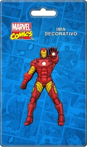 Imã Decorativo Relevo Marvel - Homem de Ferro 2