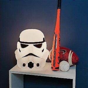 Luminaria 3D Bivolt Star Wars - StormTrooper