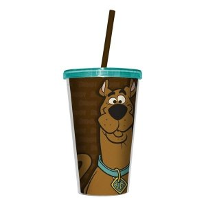 Copo Canudo Scooby Doo - Hanna Barbera