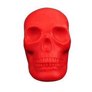 Luminária Crânio Caveira Vermelha