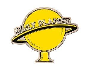 Quadro de Madeira Recortada Daily Planet Superman