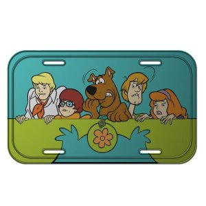 Placa Metal Decorativa Scooby Doo - Hanna Barbera