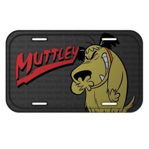 Placa Metal Decorativa Muttley - Corrida Maluca