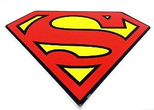 Descanso / Suporte para Panela Cerâmica Logo Super Homem