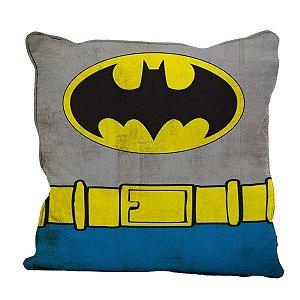 Almofada Aveludada Uniforme Batman - DC Comics
