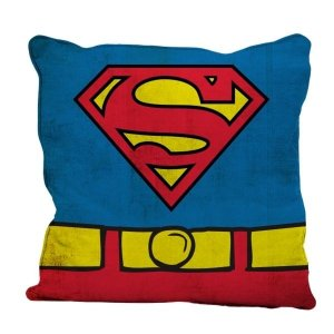 Almofada Aveludada Uniforme Superman - DC Comics