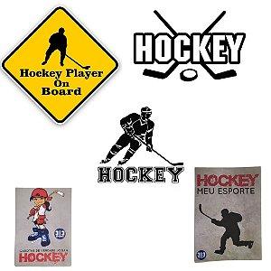 Adesivos irados de hockey