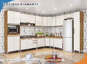 Cozinha Canto Diamante
