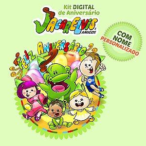 Kit DIGITAL Personalizado para Decoração de Festas Jacarelvis