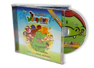 CD do Jacarelvis e Amigos - Vol. 01