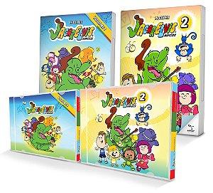 COMBO BARULHINHO BOM: DVDs e CDs 1 e 2!