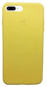 OFERTA! Capinha para iPhone 7 Plus Silicone Flexível Amarela