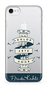 Capinha para iPhone 7 - Frida Kahlo - Pilar