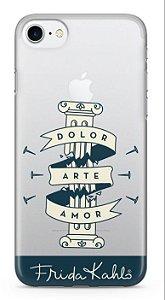 Capinha para iPhone X - Frida Kahlo - Pilar