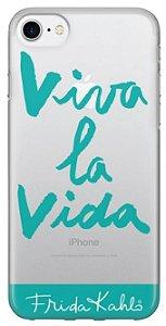 Capinha para iPhone 7 Plus - Frida Kahlo - Viva La Vida