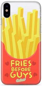 Capinha para iPhone XS MAX - Fries before guys