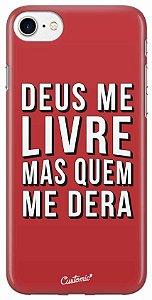 Capa iPhone/5s/SE/5 - Deus me Livre