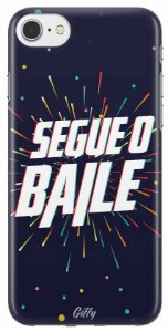 Capinha para iPhone 8 Plus - Segue o baile