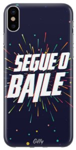 Capinha para iPhone XR - Segue o baile
