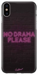 Capinha para iPhone X / XS - No drama please