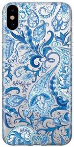 Capinha para iPhone X / XS - Alpinia Blue