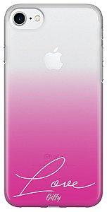 Capa iPhone 5s/SE/5 - Pink Love - Feminina