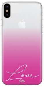Capinha para iPhone XS MAX - Pink Love