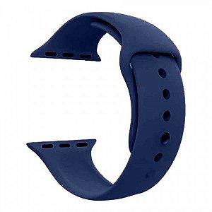 Pulseira para Smartwatch em Silicone Midnight Blue - 42/44mm