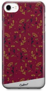 Capinha para iPhone 7 Plus - Feminina - Golden Roses
