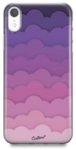 Capinha para iPhone X / Xs - Feminina - Pink Clouds