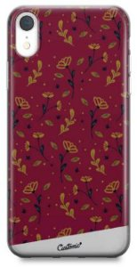 Capinha para iPhone  Xr - Feminina - Golden Roses