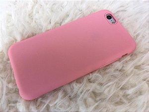 Capinha para iPhone 6s - Silicone Flexível Rosa