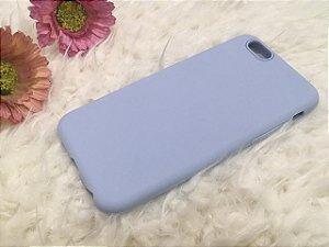 Capinha para iPhone 6s - Silicone Flexível - Azul Claro