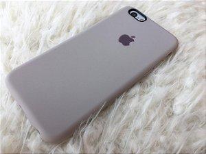 Capinha para iPhone 6s - Silicone Flexível Cinza