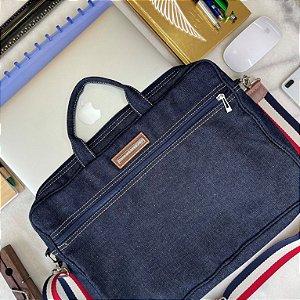Bolsa para Notebook em Jeans G