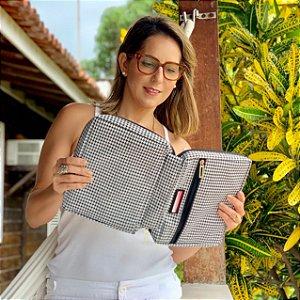 Bolsa para Bíblia preto e branco Chanel