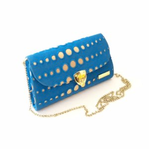 Bolsa de festa azul M Gripuir