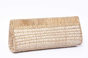 Clutch de Palha natural Vime Vazada
