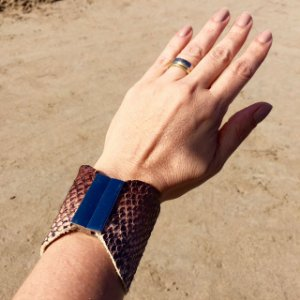 Pulseira Bracelete Imã Cobra