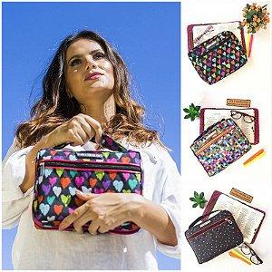 Kit com 3 Bolsas para Bíblia Estampadas